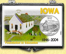 Iowa - Foundation In Education Snaplock Display