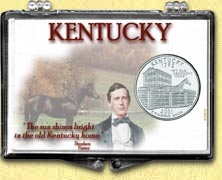 Kentucky - Old Kentucky Home Snaplock Display