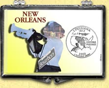 Louisiana - New Orleans Jazz Snaplock Display