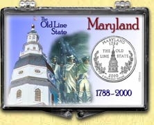 Maryland - Old Line State Snaplock Display