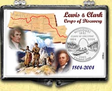 Missouri - Lewis & Clark Snaplock Display