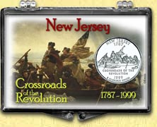 New Jersey - Crossroads of the Revolution Snaplock Display