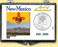 New Mexico - Land Of Enchantment Snaplock Display
