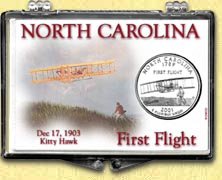 North Carolina - First Flight Snaplock Display