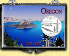 Oregon - Crater Lake Snaplock Display