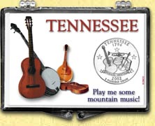 Tennessee - Play Me Some Mountain Music Snaplock Display
