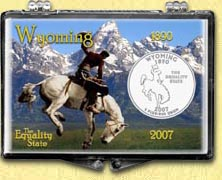 Wyoming - Cowboy Snaplock Display