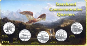 2001 State Quarter Set MAIN