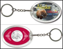 Alaska - The Great Land Keychain