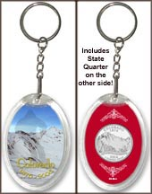 Colorado - Colorful Colorado Keychain