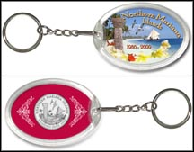 Northern Mariana Islands - Beach Keychain