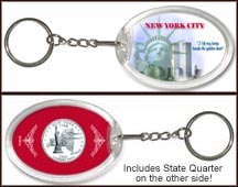 New York - New York City Keychain