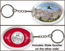 South Dakota - Mt. Rushmore Keychain
