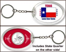 Texas - State Flag Keychain