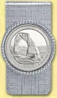 Arches National Park Quarter Money Clip