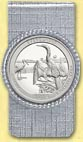 Everglades National Park Quarter Money Clip