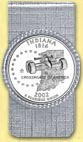 Indiana Quarter Money Clip