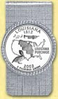 Louisiana Quarter Money Clip