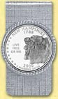 New Hampshire Quarter Money Clip