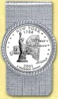 New York Quarter Money Clip