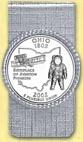 Ohio Quarter Money Clip