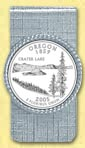 Oregon Quarter Money Clip