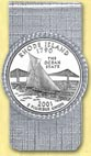 Rhode Island Quarter Money Clip MAIN