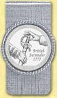Saratoga National Historical Park Quarter Money Clip
