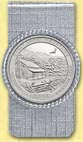 Great Smoky Mountains National Park Quarter Money Clip