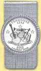 Tennessee Quarter Money Clip