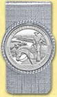 Theodore Roosevelt National Park Quarter Money Clip