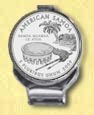 American Samoa Quarter Deluxe Money Clip