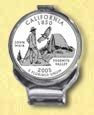 California Quarter Deluxe Money Clip