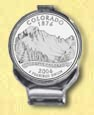 Colorado Quarter Deluxe Money Clip