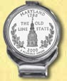Maryland Quarter Deluxe Money Clip