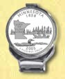 Minnesota Quarter Deluxe Money Clip