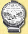 Missouri Quarter Deluxe Money Clip
