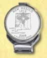 New Mexico Quarter Deluxe Money Clip