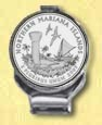 Northern Mariana Islands Quarter Deluxe Money Clip
