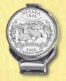 Nevada Quarter Deluxe Money Clip