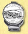 West Virginia Quarter Deluxe Money Clip