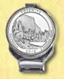 Yosemite National Park Quarter Deluxe Money Clip