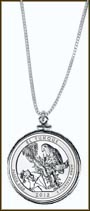 El Yunque National Forest Quarter Sterling Silver Necklace