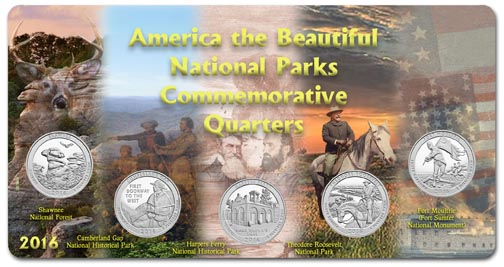 Edgar Marcus & Co Specialty Set Display - National Parks 2016