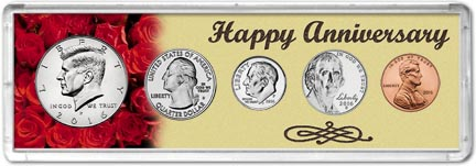 Happy Anniversary Coin Set