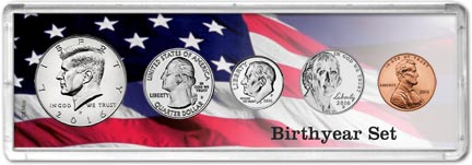 Birthyear Coin Set
