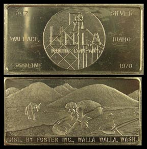 Hecla Mining Co, Wallace, ID 1970' Art Bar by Foster Company. MAIN