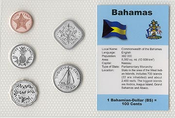 Bahamas - set of 5