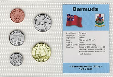 Bermuda - set of 5