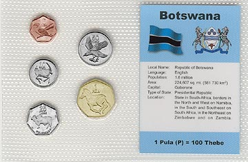 Botswana - set of 5
